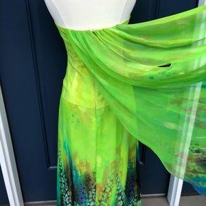 Faviana Dresses - Faviana Couture Green Strapless Prom Dress